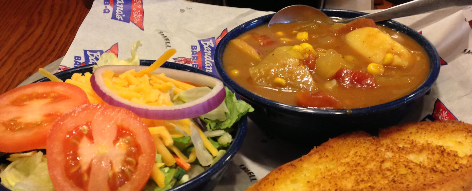 Brunswick Stew with Salad !