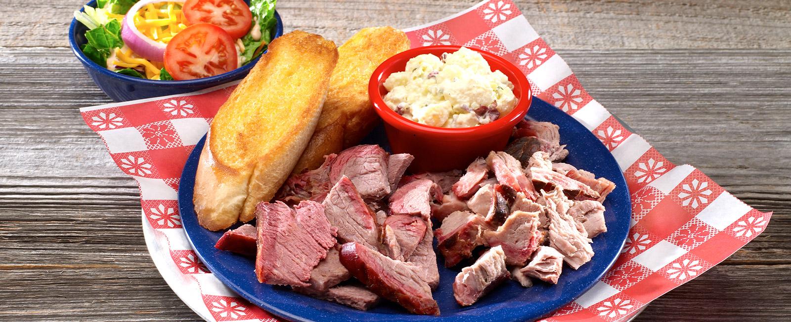 Pork & Beef Platter !