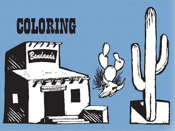 Coloring Bandana's