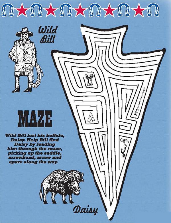 Maze - Wild Bill & Daisy