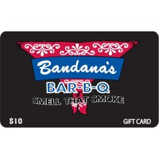 Bandanas Gift Card - $10