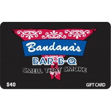 Bandanas Gift Card - $40
